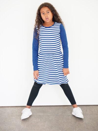 b. classy. Long sleeve girl dress made of 100 organic cotton