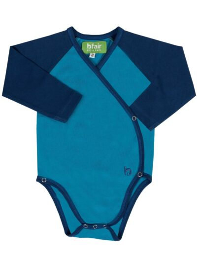 b.warm. Langarm Baby-Body aus 100% Bio-Baumwolle