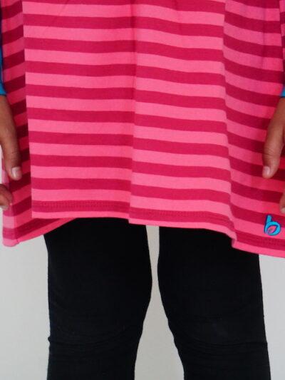 b. classy. Langarm Mädchen-Kleid aus 100% Bio-Baumwolle