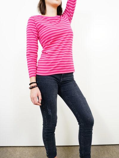 b.safe. Damen 3/4 Arm-Bluse aus 100% Bio-Baumwolle