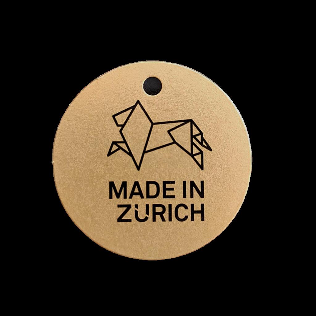 In Zürich unter fairen Bedingungen hergestellte Produkte