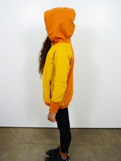 Mädchen-Hoodie aus 100% Bio-Baumwolle. Desert